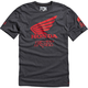 Heather Black Premium Honda T-Shirt