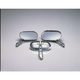 Chrome Magnum Mirror Set - 1430
