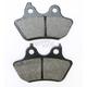 Organic Kevlar® Disc Brake Pads - 1720-0216