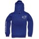 Blue Daredevil Zip Hoody