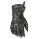 Black Windchill Leather Gloves