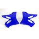 YZ Blue Radiator Shrouds - 2043870211