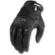 Womens Twenty-Niner Black Gloves