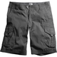 Charcoal Slambozo Solid Shorts