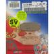 SV Severe Duty Sintered Metal Brake Pads - FA307SV