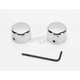 Front Chrome Axle Caps - DS-222881