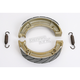 Sintered Metal Grooved Brake Shoes - 516G