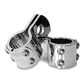 Chrome Three-Piece Clamp Set - 104