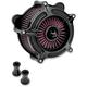 Black Turbine Air Cleaner - 0206-2037-B