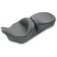 Smooth One-Piece Ultra Touring Seat w/Black Studs - 76039