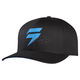 Black/Blue Barbolt Flex-Fit Hat
