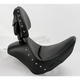 Renegade Heels Down Solo Seat w/Drivers Backrest and Studs - 806-12-0031
