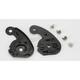 Black Base Plate Kit for HJC Helmets - 1550-100