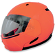 Safety Orange FX-140 Modular Helmet