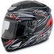 Black Red Line FX-95 Helmet