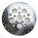 Rear 11.5 in. Stainless Steel Drilled Brake Rotor - 1710-1907