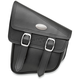 Black RuffHyde Swingarm Storage Bag with Twin Buckles - 947RVT