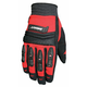 Velocity Black/Red Gloves