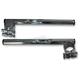 Chrome 1 in. Clip-On Handlebar for 39mm Fork Tubes - 07-93137