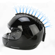 Blue Fiber Optic Motorcycle Helmet Mohawk - FOB