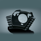 Gloss Black Throttle Servo Motor Cover - 7244