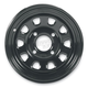 Black Large Bell Delta Steel Wheel - 1225579014