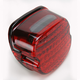 Low-Profile LED Taillight Conversion Kit with Red Lens - 5436