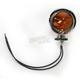 Dual Filament Bullet Marker Lights-Amber - DS-280069