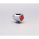 Dual Filament Bullet Marker Lights-Red - DS-280070
