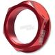 Red Steering Stem Nut - 090RD225700