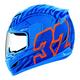 Blue Airmada  Bostrom Signature Helmet
