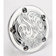 Chrome Engraved Points Cover - 03-599