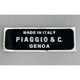 Made in Italy Decal - 85547B