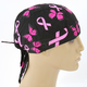Breast Cancer Ribbon and Butterflies Flydanna Headwrap - ZBC07