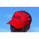 Text Black/Red Hat - 300402