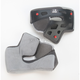 Grey Cheek Pad Set for M - L RS1 Helmets