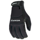 Black Honda Crew Touch Gloves