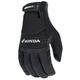 Black Honda Crew Touch Gloves