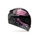Black/Pink Vortex Monarch Helmet