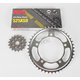 525GXW Chain and Sprocket Kit - 3076-040W