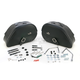Rigid-Mount Specific-Fit Drifter Teardrop Saddlebags - 3501-0463