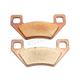 Sintered Metal Brake Pads - 1721-0621