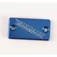 Anodized Billet Aluminum Front Brake Reservoir Cover - 21-020
