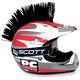 Black Helmet Mohawk - PCHMBLACK
