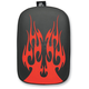 Solid Red Flame Phantom Pillion Pad - SE301VFR