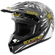 Youth Black/Yellow Rockstar IV Assault Helmet