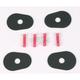 Turn Signal Adapter Plates - 07-251BK-L