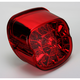 Red Bottom Web Taillights for 99-up Models  w/Traditional Style Taillights - 2010-0743