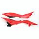 Husky Red Radiator Shrouds / Side Panels - HU03340-062