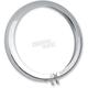 Chrome 4 1/2 in. Headlight Ring Trim - 2001-0560
